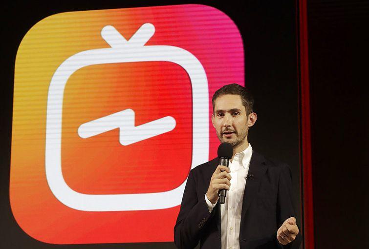 Kevin Systrom, director general y cofundador de Instagram. Foto: Jeff Chiu / AP / Archivo.