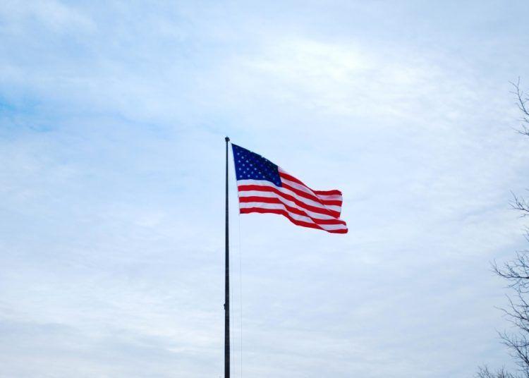 Bandera de los Estados Unidos de América.