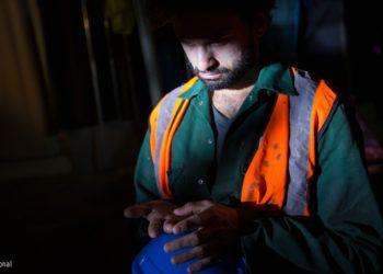 Trabajador migrante en Qatar (Fuente: Amnistía Internacional)