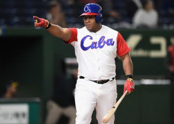 Alfredo Despaigne. Foto: Matt Roberts/Getty Images