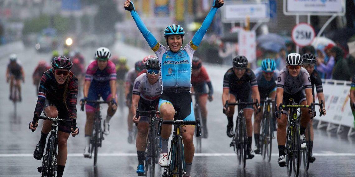 Arlenis Sierra cerró la temporada con un triunfo en China. Foto: Astaná
