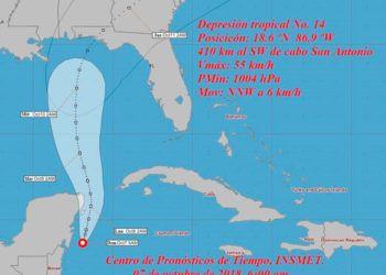 Mapa: Instituto de Meteorología de Cuba.
