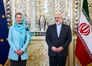 Federica Mogherini y Mohammad Javad Zarif Foto: Tasnim News Agency Wikimedia