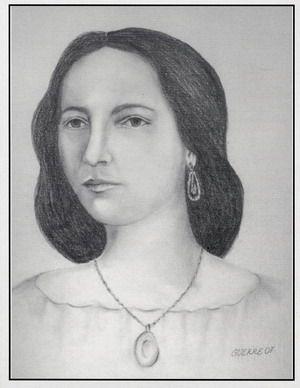 Luz Vázquez, una beldad a la que su esposo Francisco Castillo Moreno le dedicó La bayamesa (junto a Céspedes, su primo hermano, y Fornaris).