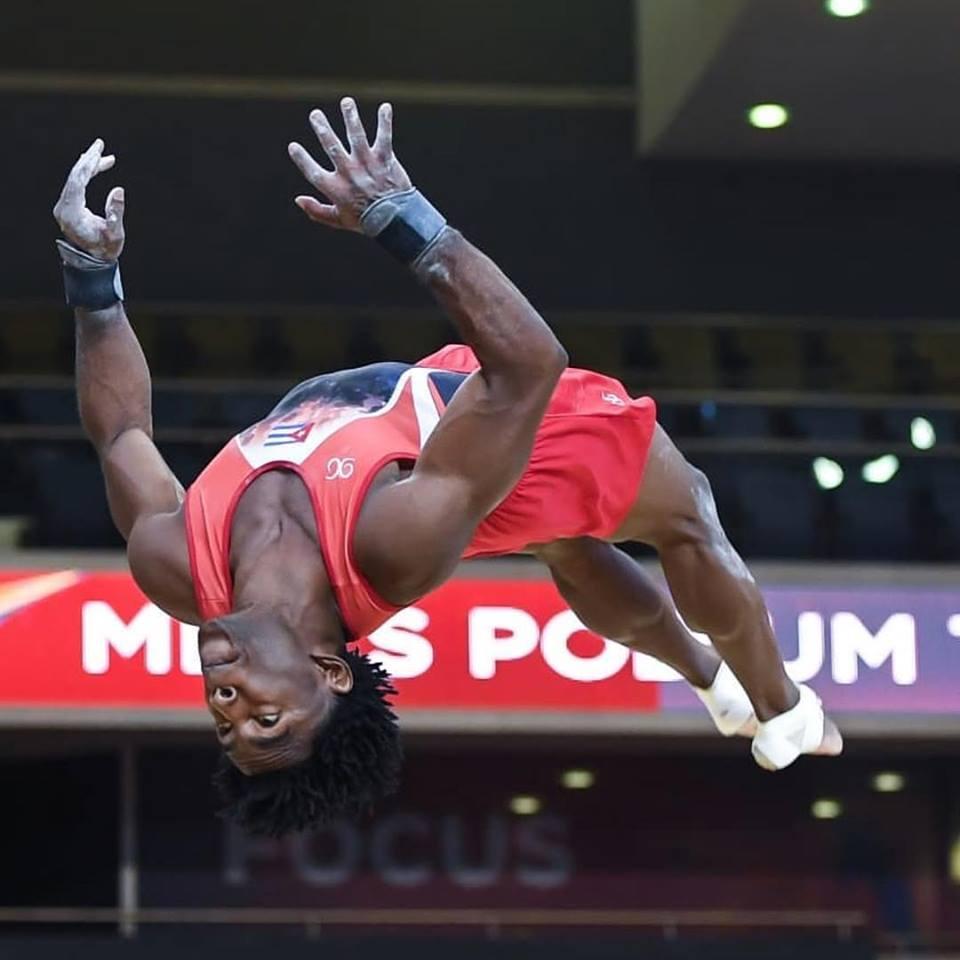Manrique Larduet no tuvo una buena actuación en el Mundial de Doha. Foto: Amy Sanderson