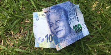 Nelson Mandela South Africa Bill Note 100 Money
