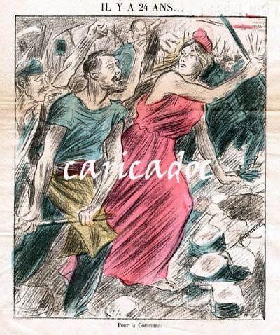 Se vieron mariannes en la Comuna de París.