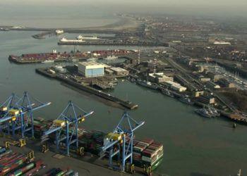 Puerto de Zeebrugge, en Bélgica. Foto: footage.framepool.com
