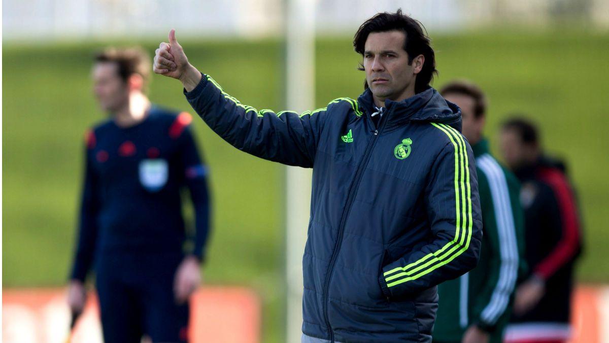 Santiago Solari será el técnico interino del Real Madrid. Foto: Getty Images.