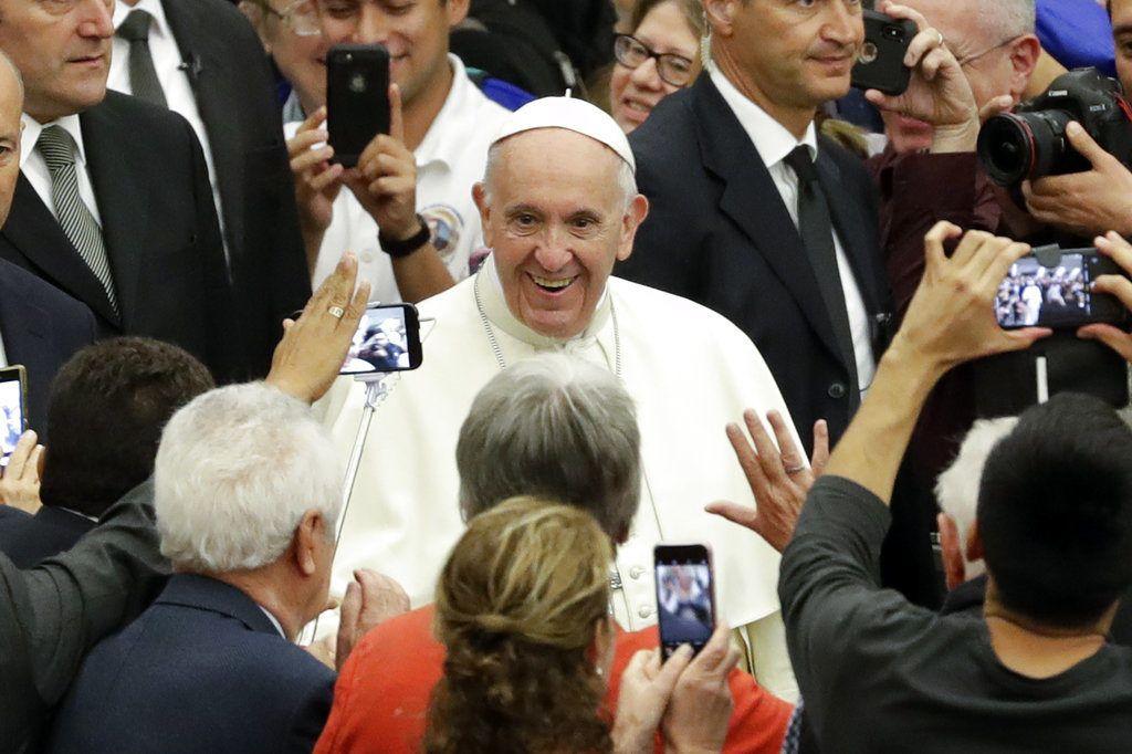 El papa Francisco en un evento en el Vaticano el 15 de octubre del 2018. (AP Photo/Andrew Medichini)