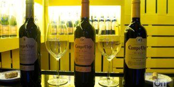 Vinos Campo Viejo, de denominación Rioja, en exposición durante la XIX Fiesta Internacional del Vino en La Habana. Foto: Otmaro Rodríguez.