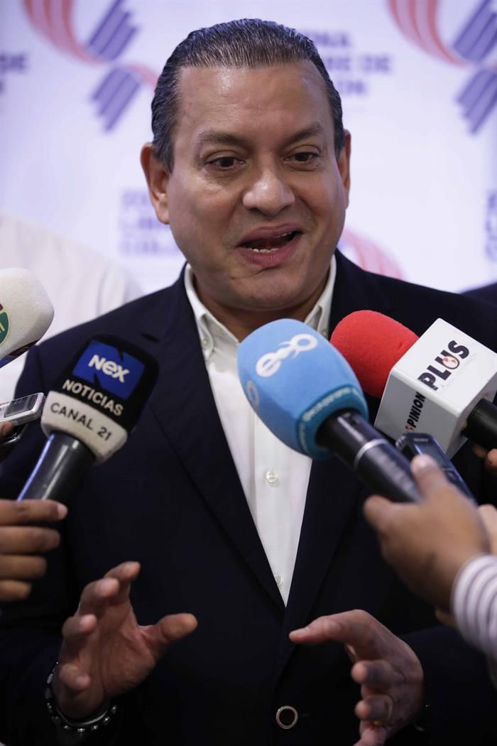 Manuel Grimaldo, gerente de la Zona Libre de Colón, Panamá. Foto: Bienvenido Velasco / EFE.