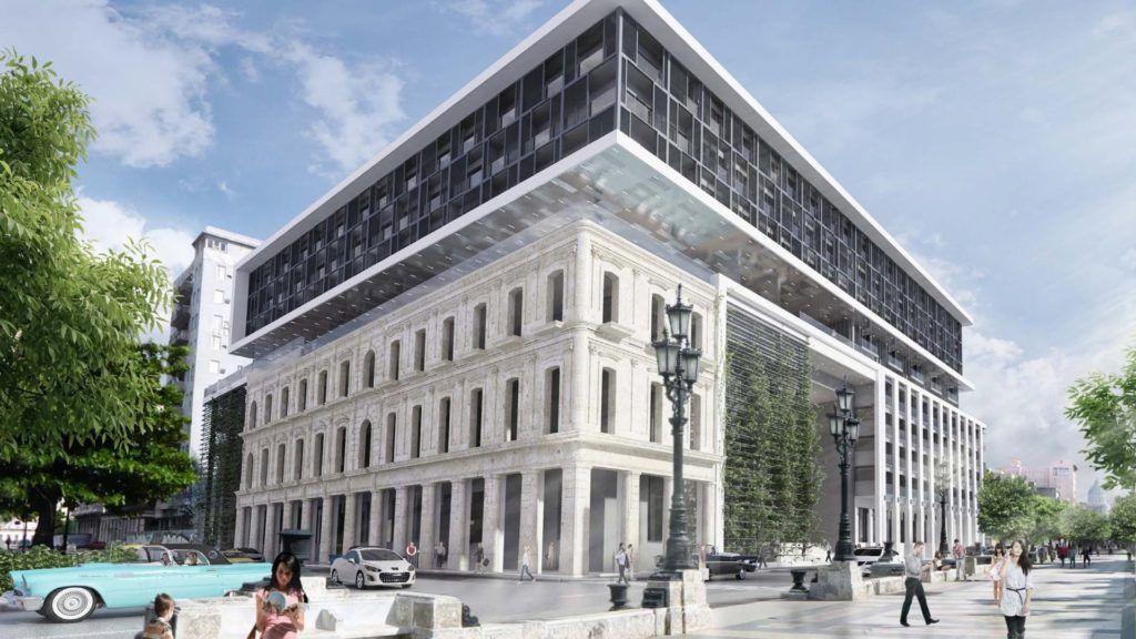 El recién inaugurado Hotel Gran Packard en La Habana está incluido en la lista de lugares sancionados. Imagen:Iberostar Hotels & Resorts