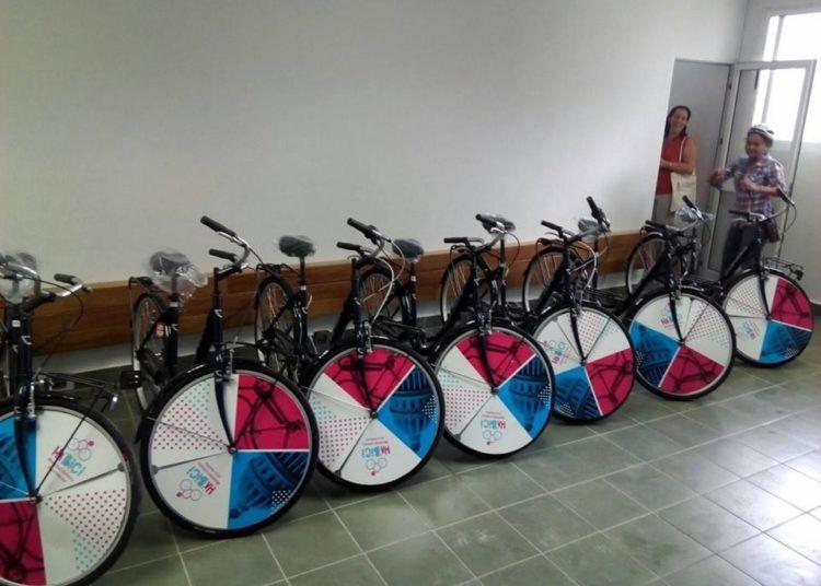 """Bicicletas para """"Ha'Bici"""". Foto: Daniel Cast."""