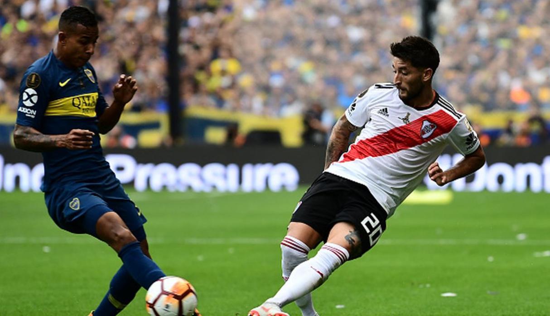 Partido de ida de la Copa Libertadores, entre los equipos argentinos Boca Juniors y River Plate, el domingo 11 de noviembre de 2018. Foto: depor.com