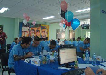 Final caribeña del Concurso Internacional Universitario de Programación (ICPC) realizada en la Universidad de las Ciencias Informáticas de La Habana. Foto: Alberto C. Toppin / ACN.