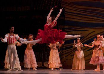 """Puesta de """"Don Quijote"""" por el Ballet Nacional de Cuba. Foto: cadenagramonte.cu"""