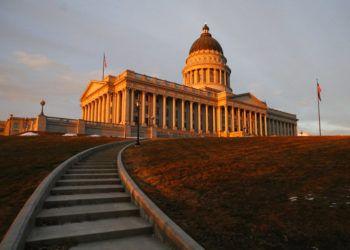 Capitolio de Utah en Salt Lake City. En ese estado distintos sectores se pusieron de acuerdo para fijar ciertos parámetros sobre el uso médico de la marihuana. Foto: Rick Bowmer / AP.
