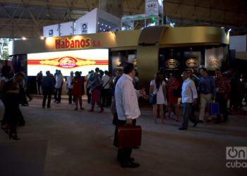 Pabellón de Cuba en la Feria Internacional de La Habana Fihav 2018. Foto: Otmaro Rodríguez.