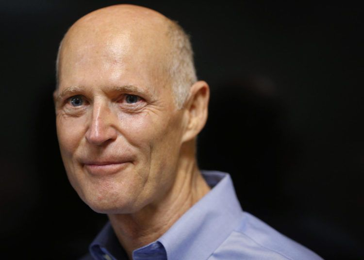 Rick Scott. Foto tomada de sun-sentinel.com