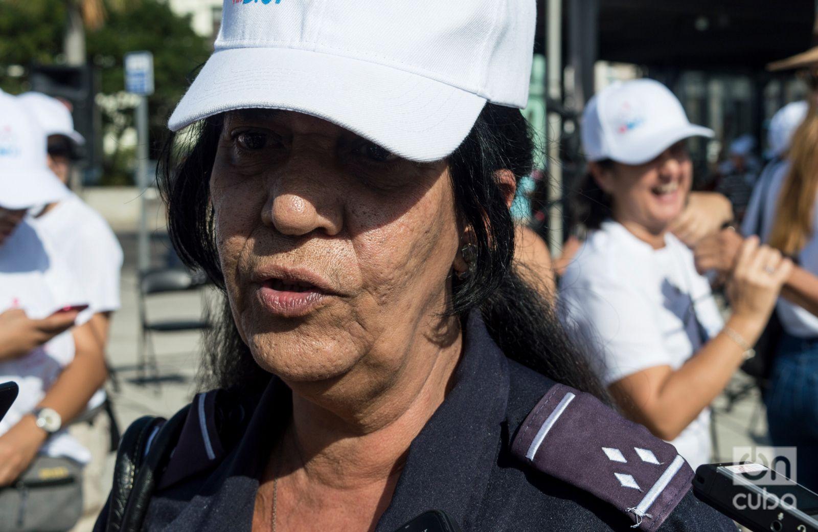 Guadalupe Rodríguez, directora de Planeamiento de la Dirección de Transporte de La Habana. Foto: Otmaro Rodríguez.