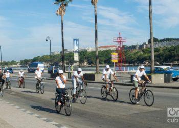 Sistema de bicicletas públicas en la Habana Vieja. Foto: Otmaro Rodríguez.