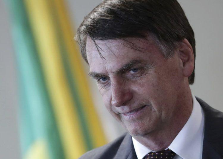 El presidente electo de Brasil, Jair Bolsonaro, en Brasilia. Foto: Eraldo Peres / AP.