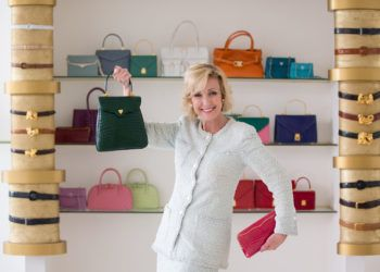 La diseñadora de bolsos de lujo Lana Marks, nominada por Donald Trump como embajadora de EE.UU. en Sudáfrica. Foto: fashionweekdaily.com