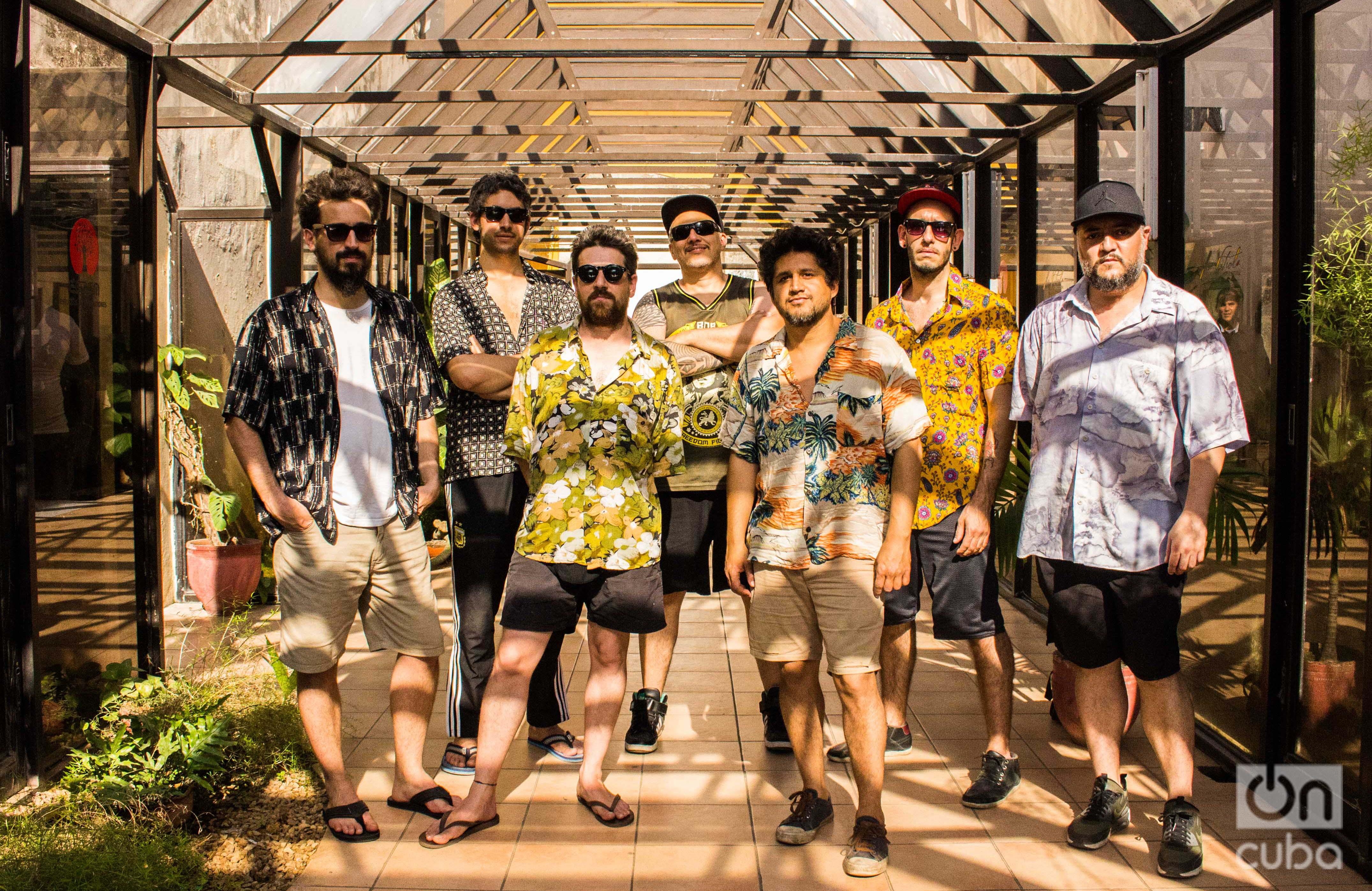 Con este viaje a Cuba Los Espíritus también quieren conocer y empaparse de la música de la Isla. Foto: Rosario Ojeda.