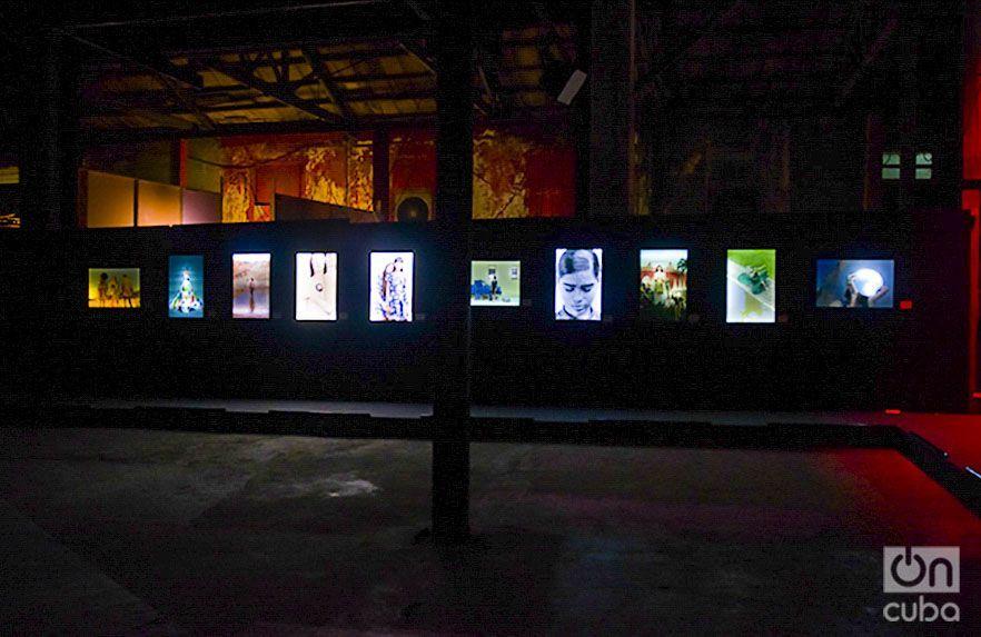 La expo cuenta con 28 piezas en Impresión Epson Inkjet K3 Display Trans Backlight. Foto: Pablo Dewin Reyes.