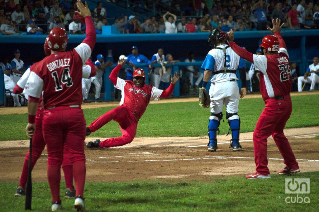 La irrupción de Mayabeque entre los mejores equipos de la Serie 58 no fue producto del reordenamiento, sino de la paridad existente en el béisbol cubano. Foto: Otmaro Rodríguez