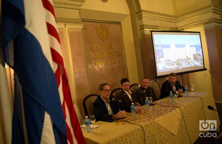 Conferencia Agrícola EE.UU.-Cuba en el Hotel Nacional, en La Habana, en noviembre de 2018. Foto: Otmaro Rodríguez / Archivo.