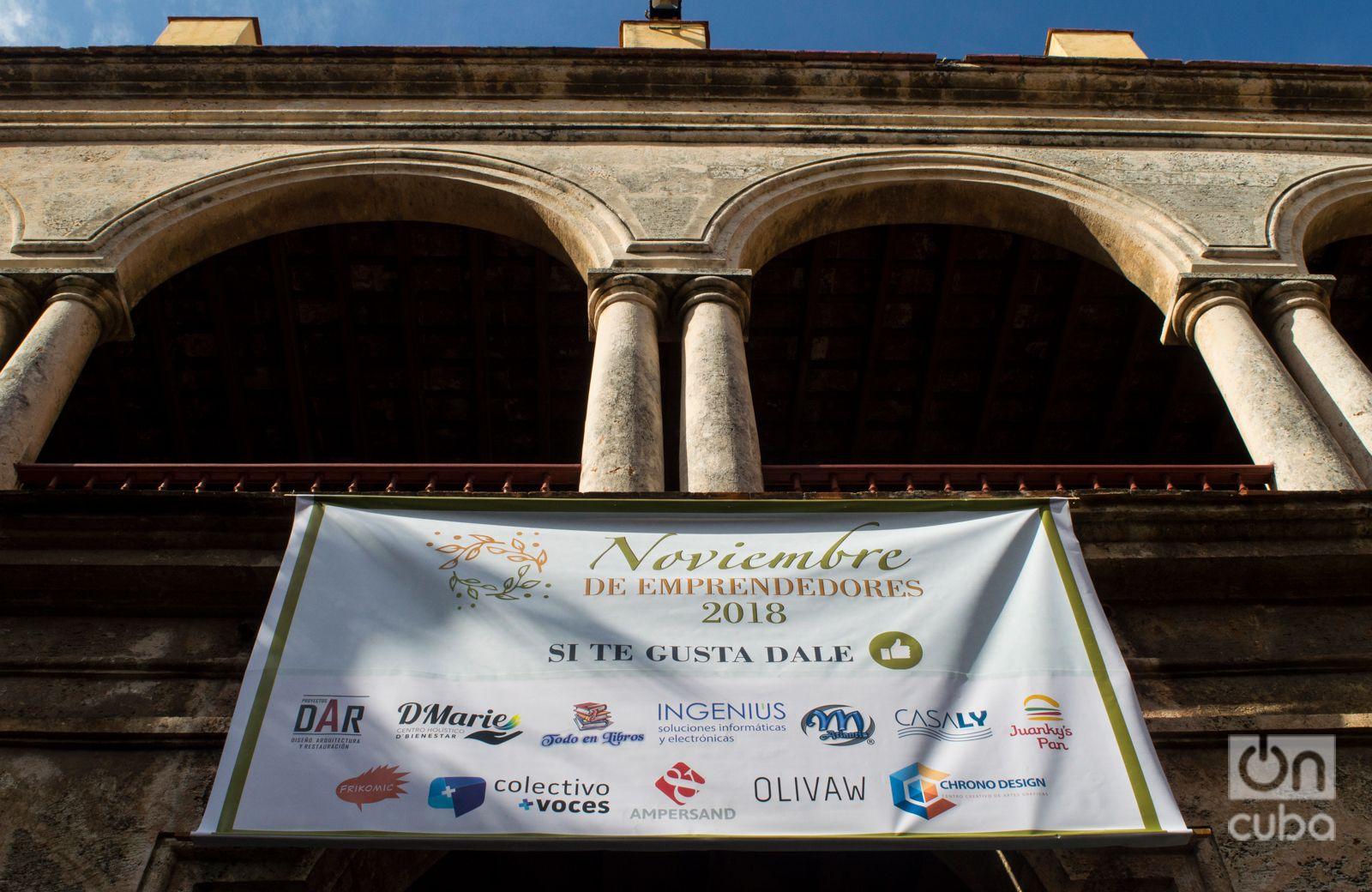 """""""Noviembre de emprendedores"""" en el Centro Félix Varela. Foto: Otmaro Ridríguez."""