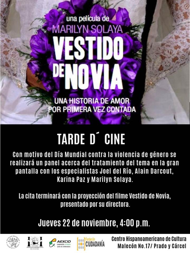 vestido de novia en tarde d'cine   oncuba news