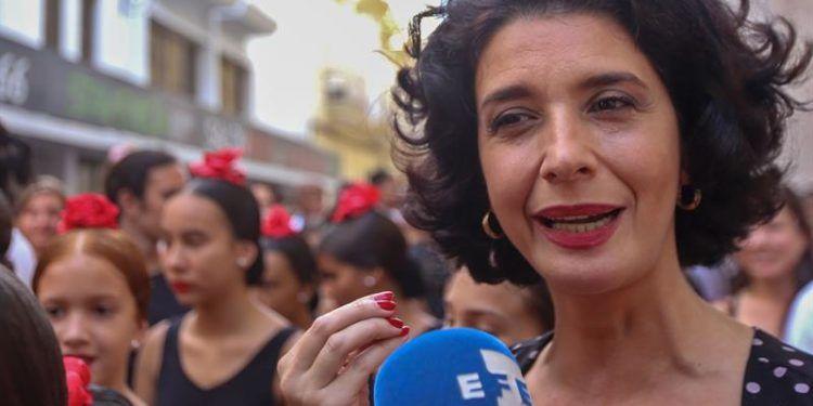 Eugenia Eiriz, viuda de Antonio Gades y directora de la Fundación Antonio Gades. Foto: Yander Zamora.