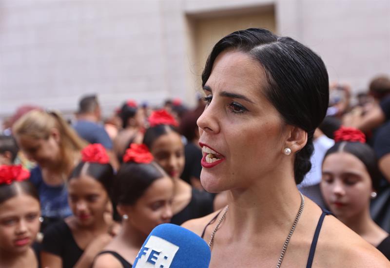 Irene Rodríguez, directora de la compañía de baile español que lleva su nombre. Foto: Yander Zamora.