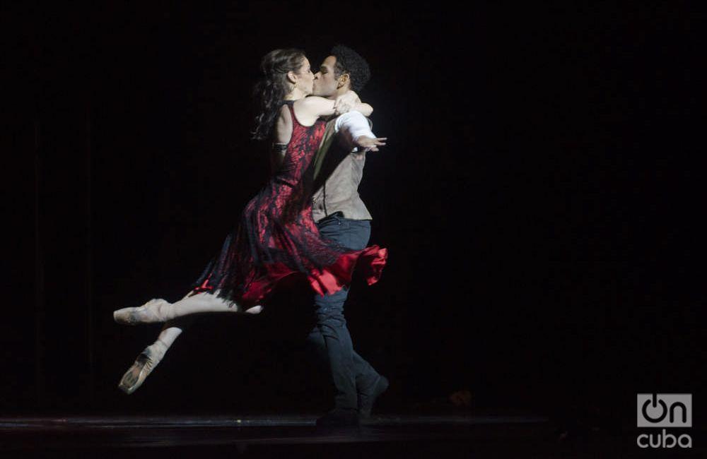 """El ballet""""Carmen"""",en versión coreográfica de Carlos Acosta. Foto: Enrique Smith."""