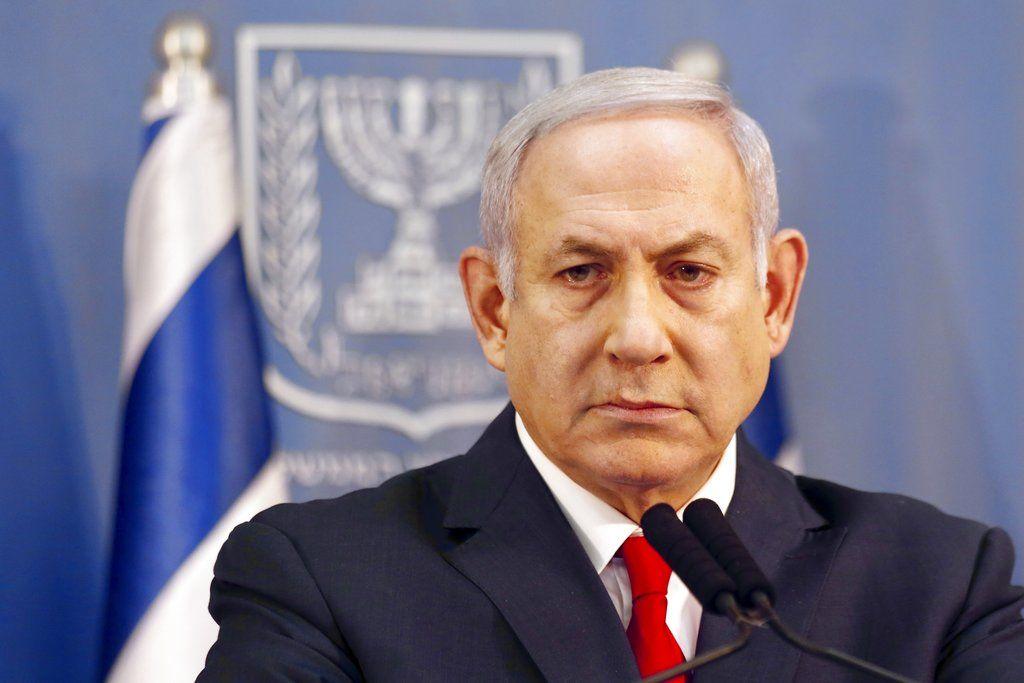 El primer ministro de Israel Benjamin Netanyahu en un evento en Tel Aviv, Israel, el 18 de noviembre del 2018. Foto: Ariel Schalit / AP.