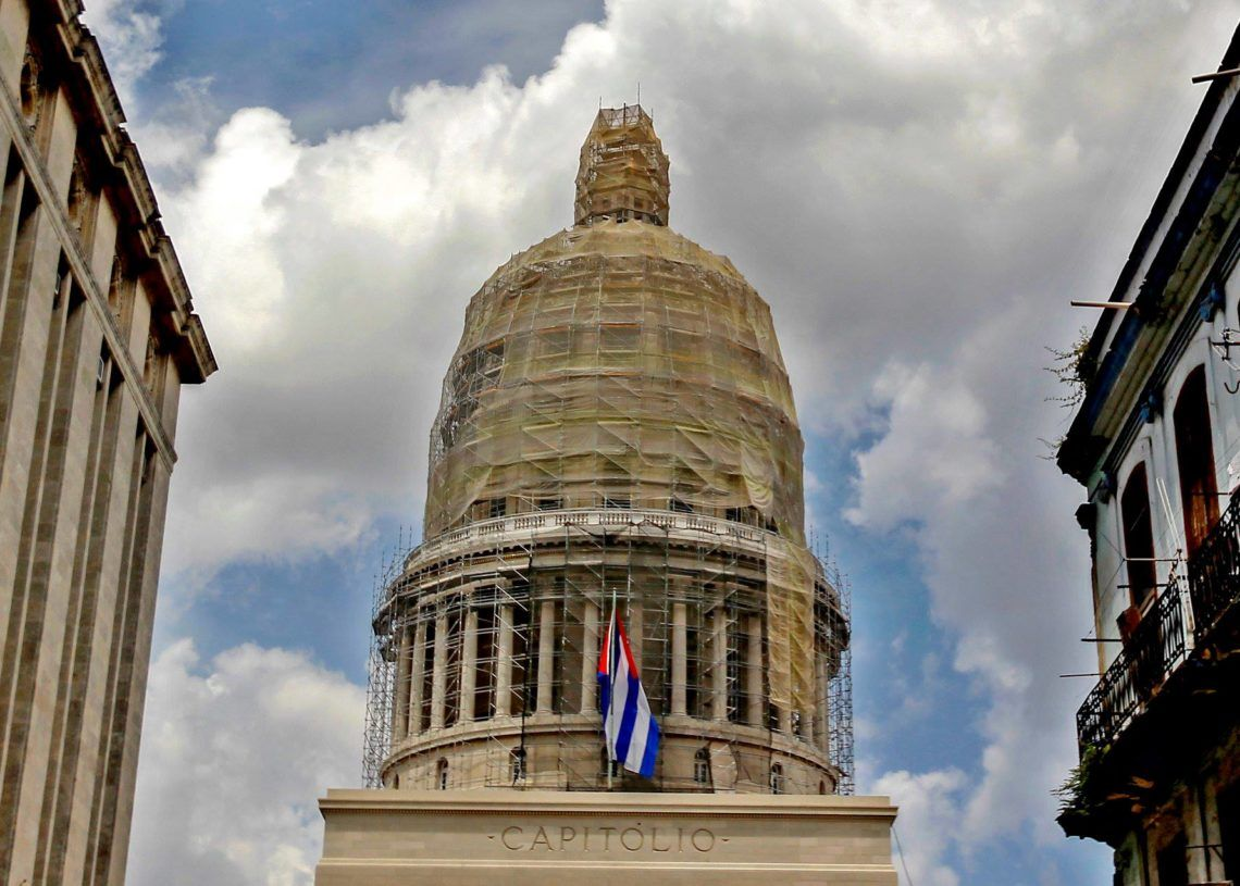 Capitolio de La Habana. Foto: Yander Zamora.