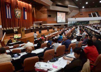 Sesión de la Asamblea Nacional de Cuba, en el Palacio de Convenciones de La Habana. Foto: Marcelino Vázquez / ACN / Archivo.
