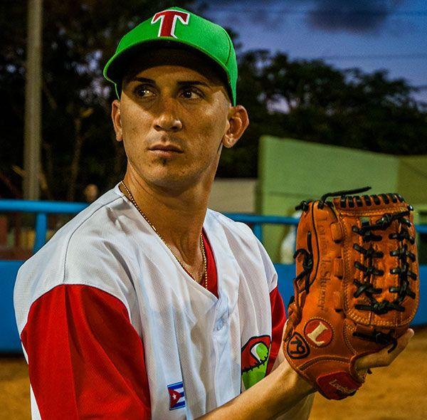 El zurdo Dariel Góngora ha sido un látigo contra Villa Clara. Foto: periodico26.cu