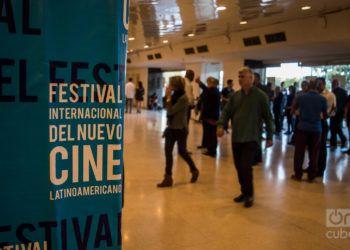 Apertura del 40 Festival Internacional del Nuevo Cine Latinoamericano de La Habana. Foto: Otmaro Rodríguez/OnCuba/Archivo.