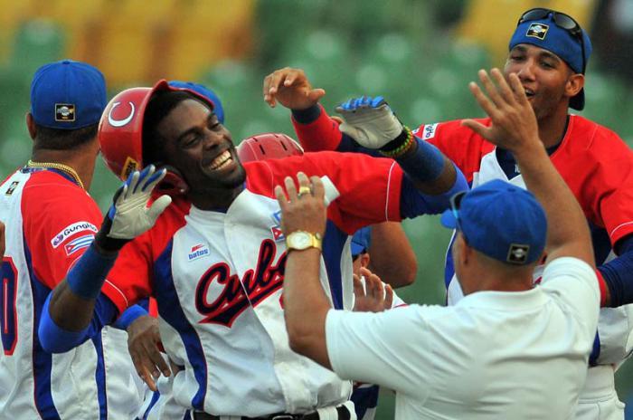 Cuba regresará al Premier 12 para tratar de mejorar su actuación en la primera edición del evento en el 2015. Foto: Ricardo López Hevia