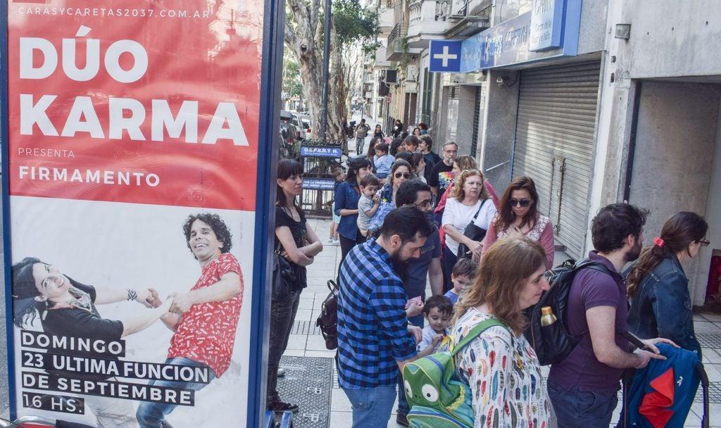 """Presentación de """"Firmamento"""" en Buenos Aires. Foto: Kaloian."""