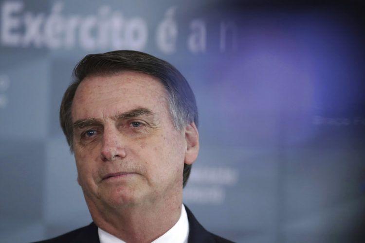 El presidente electo Jari Bolsonaro. Foto: Eraldo Peres/AP.
