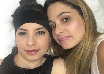 Mailén Díaz Almaguer junto a su hermana Mailin Díaz. Foto: Tomada de Facebook.