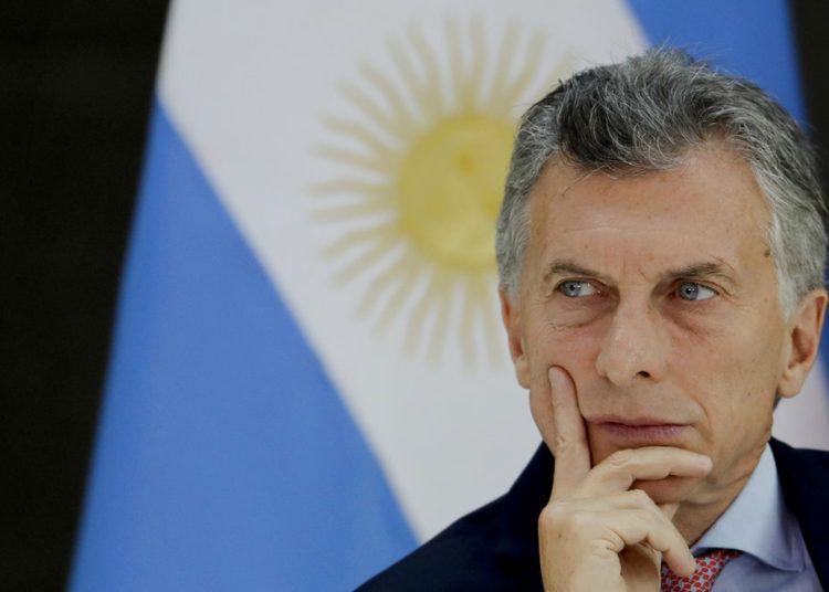 El presidente argentino Mauricio Macri en la casa de gobierno en Buenos Aires. Foto / Natacha Pisarenko / AP / Archivo.