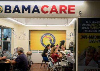 Centro de inscripción del Obamacare. Foto: tampabay.com