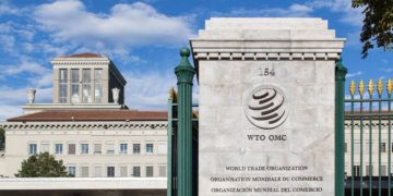 Sede de la Organización Mundial del Comercio (OMC) en Ginebra, Suiza. Foto: medium.com