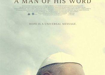 """""""El Papa Francisco. Un hombre de palabra"""". Foto: SensaCine.com."""